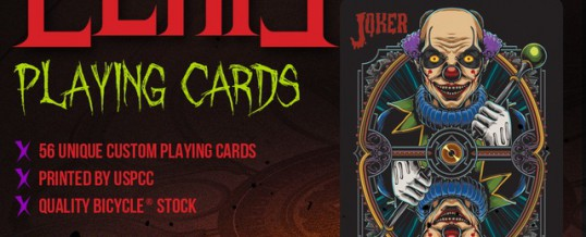 Bicycle Eerie Decks Nearly Funded on KS!